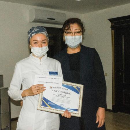 В честь  Дня медицинской сестры в  медицинском центре  Uniserv Medical Center проведен конкурс на звание Лучшей медицинской сестры поликлиники